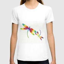 Little Rainbow Dragonflies T-shirt