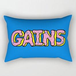 Donut Gains Rectangular Pillow