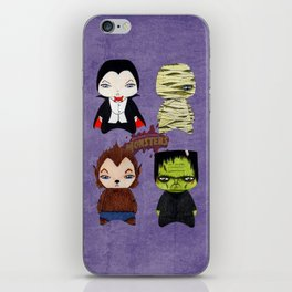 A Boy - Universal Monsters iPhone Skin