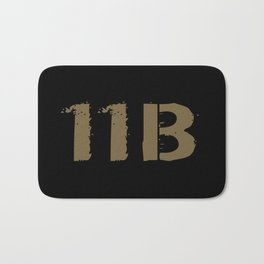 11B Infantryman Bath Mat