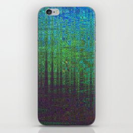 AN ANCIENT FORREST ON VIRGIL FOUR iPhone Skin