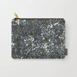 Abstract Floral Print Spring Carry-All Pouch