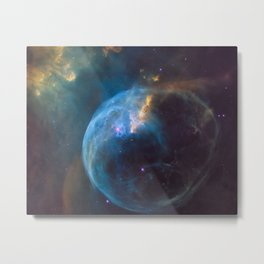 BALLOONS IN SPACE Metal Print