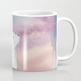 Starlit Sky Over the Arctic Coffee Mug