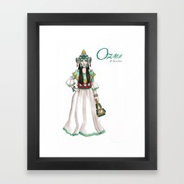 Ozma Framed Art Print