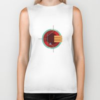 transistor Biker Tanks featuring A Transistor by PAUSE