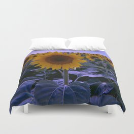 sunflower wonderland Duvet Cover