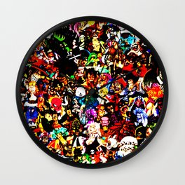 One Piece Wall Clock