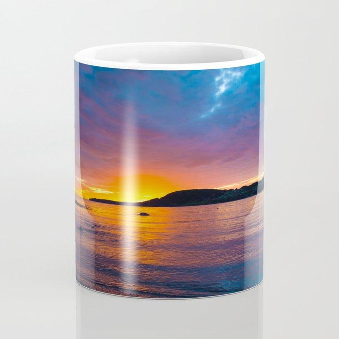 East Coast Sunset Coffee Mug