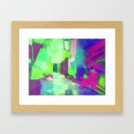 Game color Framed Art Print