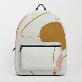 Minimal Abstract Shapes No.46 Backpack