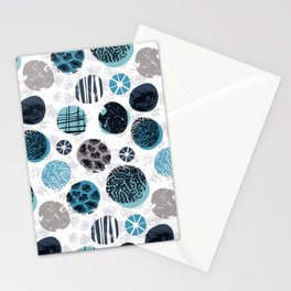 Blue Pebbles Stationery Cards