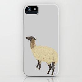 Viola the Llama iPhone Case