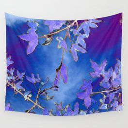 Into the Blue Wall Tapestry