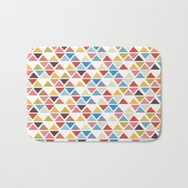 Triangle love Bath Mat
