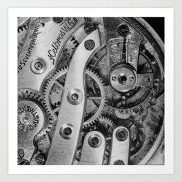Inside Clockworks Art Print