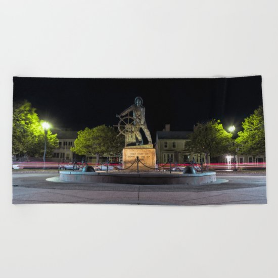 Fisherman's Memorial Beach Towel
