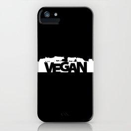 VEGAN Herbivores iPhone Case
