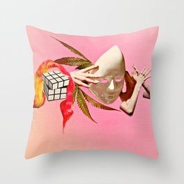 Dissociate Throw Pillow