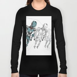 Robot Concept Long Sleeve T-shirt