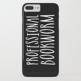 Professional bookworm - Inverted iPhone Case