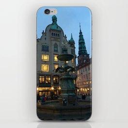 Copenhagen winter dusk iPhone Skin