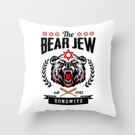 Inglourious Basterds - The Bear Jew Throw Pillow