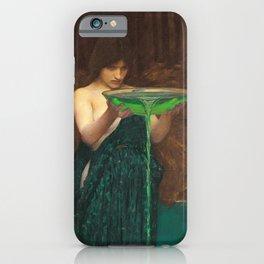 John William Waterhouse - Circe Invidiosa iPhone Case