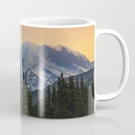 Mount Rainier colors Coffee Mug