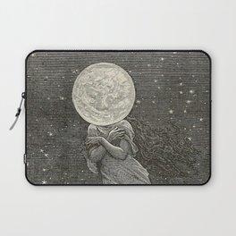 AROUND THE MOON - EMILE-ANTOINE BAYARD Laptop Sleeve