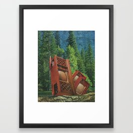 This season's colors. Framed Art Print