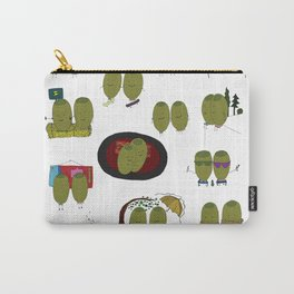 Olive Love Carry-All Pouch