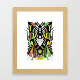 Neo Cosmogony Framed Art Print