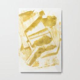 Melt Metal Print