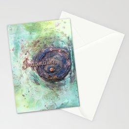 Imagination art work Stationery Cards