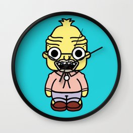 abuelo style pin y pon Wall Clock