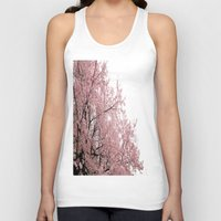 cherry blossoms Tank Tops featuring cherry blossoms by 2sweet4words Designs