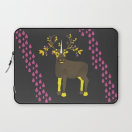 Reindeer Unicorn Laptop Sleeve