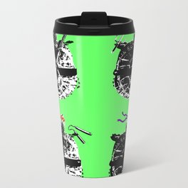 Heroes in a Half Shell Color Metal Travel Mug