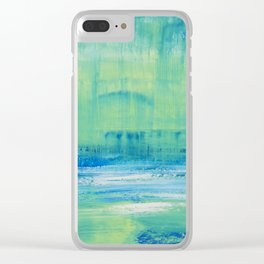 Sunday Mornings Clear iPhone Case