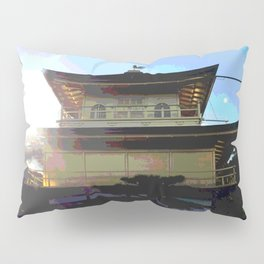 Golden Pavilion Pillow Sham