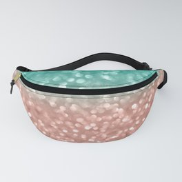 Coral Meets Sea Fanny Pack