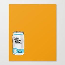 koffee kolsh Canvas Print