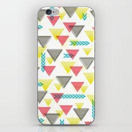 Wild Triangles iPhone Skin