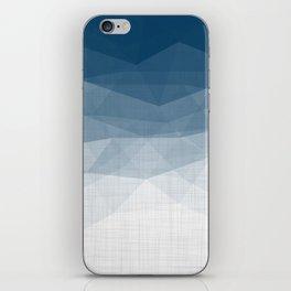 Imperial Topaz - Geometric Triangles Minimalism iPhone Skin