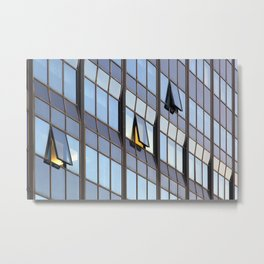 Abstract windows. Metal Print