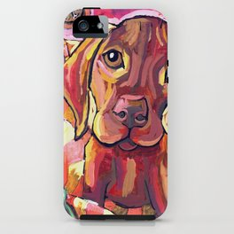 Dog with Shoes iPhone Case