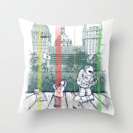 God Bless You, Kurt Vonnegut! Throw Pillow