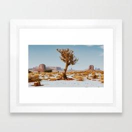 Monument Valley Juniper Framed Art Print