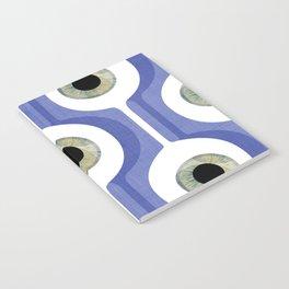 Eye Pod Purple Notebook